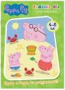 Peppa Pig. Zadania dla przedszkolaka.  Nauka z Peppą to przyjemność! 4-5 lat.