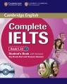 Complete IELTS Bands 5-6.5 Student's Book with answers + CD Brook-Hart Guy, Jakeman Vanessa