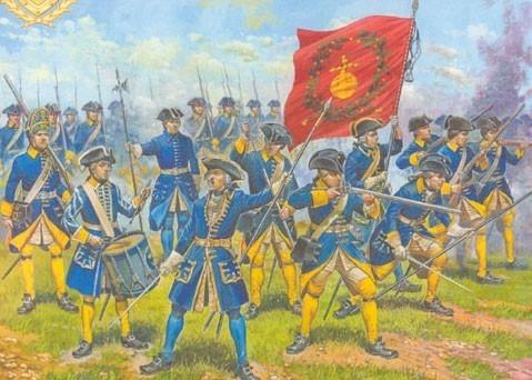 ZVEZDA Swedish Infantry 1687-1721 (MZV-8048)