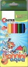 Kredki ołówkowe Aqua 12 kolorów NOSTER