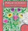 Świat Roślin Magia doodle