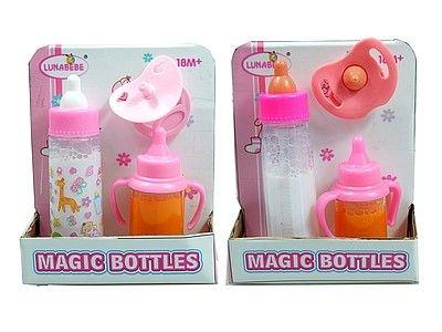 Zestaw akcesoriów dla lalek Adar 2 magiczne butelki i smoczek (533486)