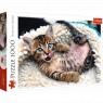 Puzzle 1000: Wesoły kotek (10448)