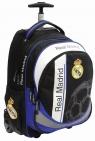 Tornister na kółkach z rączką Trolley Real Madrid