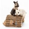 Bawiące się króliczki Figurka (13748)
