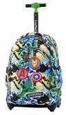 Coolpack - Disney - Jack - Plecak na kółkach - Avengers Badges (B53308)