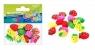 Ozdoba dekoracyjna guziki truskawki 25szt