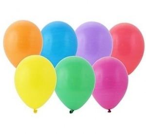 Balony piłki GPBI1/50 mix żółty, różowy