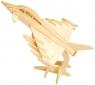Łamigłówka drewniana Gepetto - Myśliwiec G3