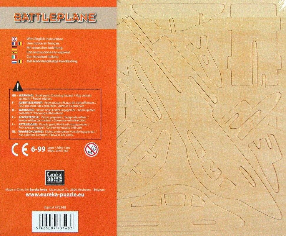 Łamigłówka drewniana Gepetto - Myśliwiec (105674)