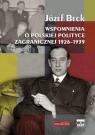 Wspomnienia o polskiej polityce zagranicznej 1926-1939