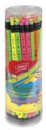 Ołówek Jumbo fluo z gumką (837349)
