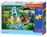 Puzzle 120 Jungle Book CASTOR