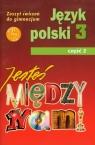 Jesteś między nami 3 Język polski Zeszyt ćwiczeń Część 2 Gimnazjum Nieckula Grażyna, Szypska Małgorzata