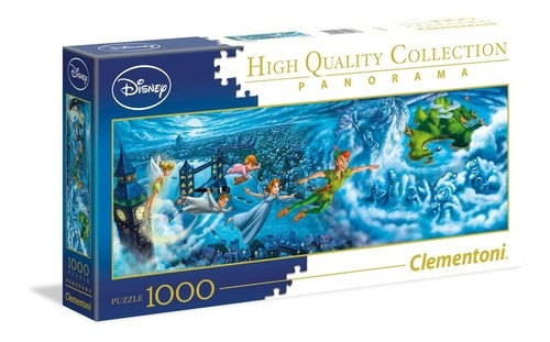Puzzle 1000 High Quality Collection Panorama Peter Pan: (39448)