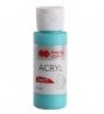Farba akrylowa MATT - morski cyjan 60 ml (0060-134)