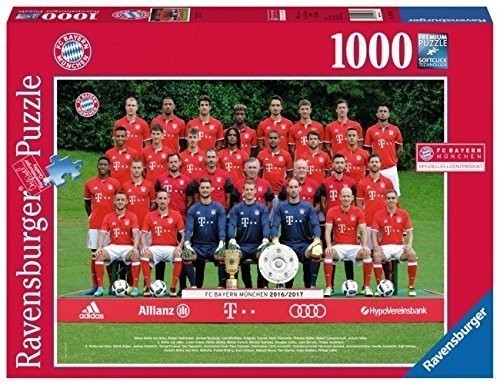 Puzzle 1000: FC Bayern Monachium 16/17 (196487)