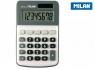 Kalkulator Milan 8 pozycyjny, szary (150808GBL)