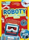 National Geographic Kids. Roboty. Łamigłówki i naklejkowe zadania