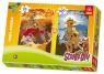 Scooby Doo - Puzzle 2w1 - 100 elementów (34048)