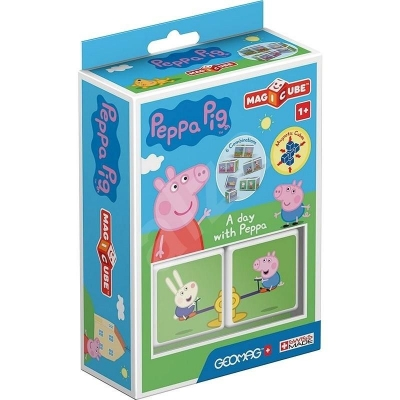 Geomag Magicube Peppa Pig A day with Peppa
