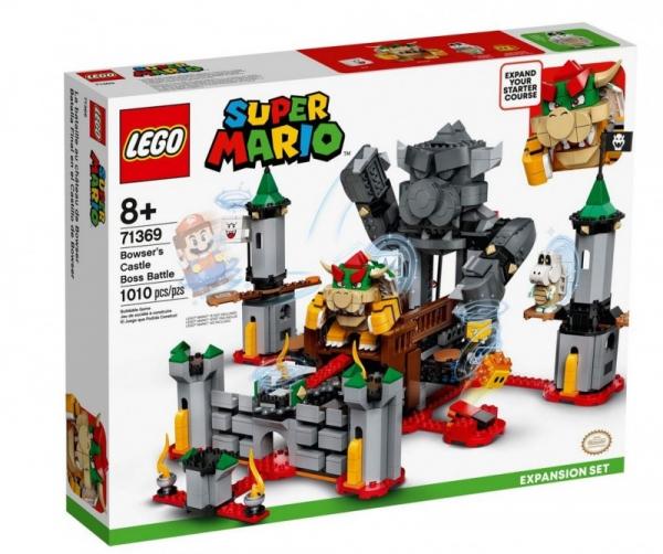 Klocki Super Mario Walka w zamku Bowsera - zestaw rozszerzony (71369)