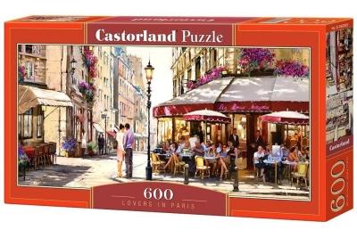 Puzzle Lovers in Paris 600 (B-060085)