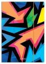 Teczka rysunkowa A4 z gumką Neon Art