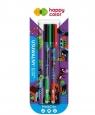 Długopis usuwalny Me&City 0,5mm, 2 szt. - niebieski (4120 01MC-3 BK2)