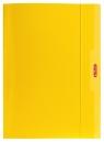 Teczka A4 z gumką żółta