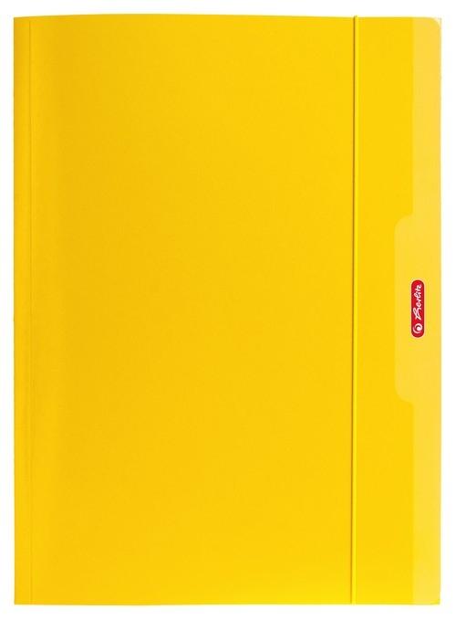 Teczka A4 z gumką - żółta (9564485)
