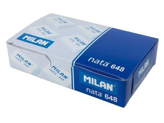 Gumka MILAN 648 NATA, 48 sztuk (648)