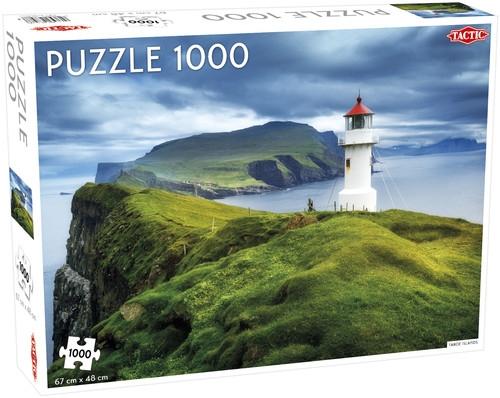 Puzzle Wyspy Owcze 1000 el /56748/ Faroe Islands