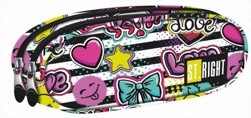 Saszetka dwukomorowa Kiss & Love