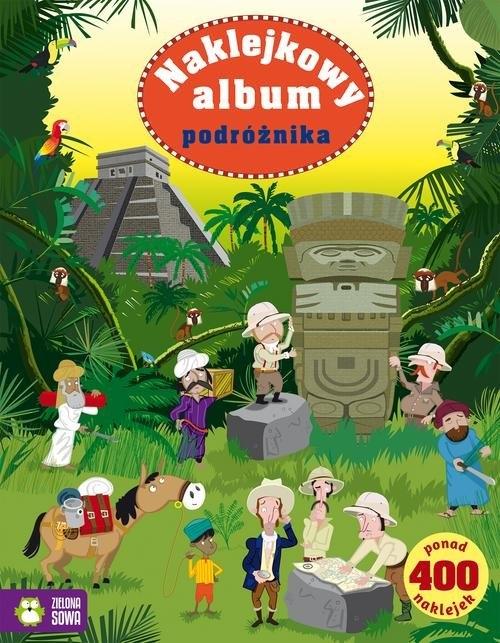 Naklejkowy album podróżnika Watt Fiona