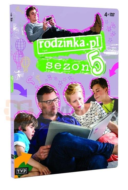 Rodzinka.pl  sezon 5 (Uszkodzone opakowanie) Karol Klementewicz, Kuba Wecsile