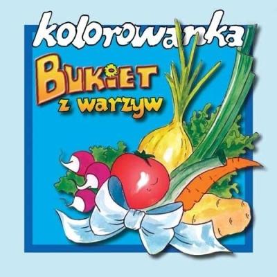 Kolorowanka - Bukiet warzyw wyd. 2017 Anna Rolińska