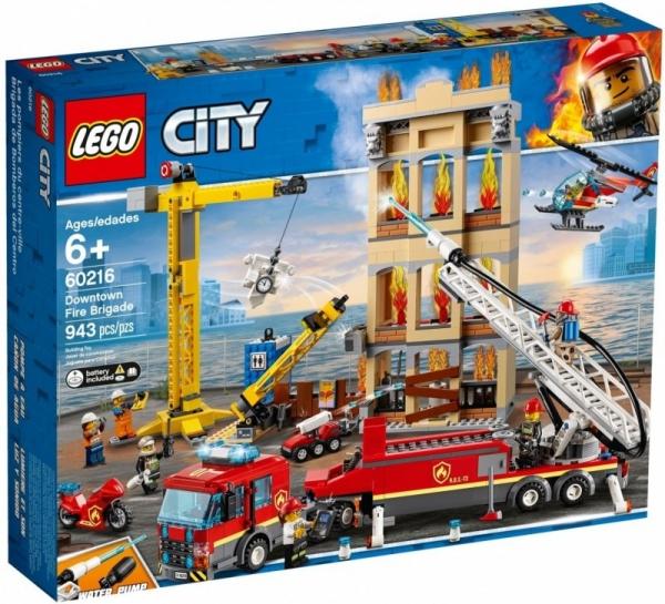 Klocki City Straż pożarna w śródmieściu (60216)