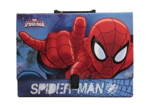 Teczka z rączką walizeczka Spiderman