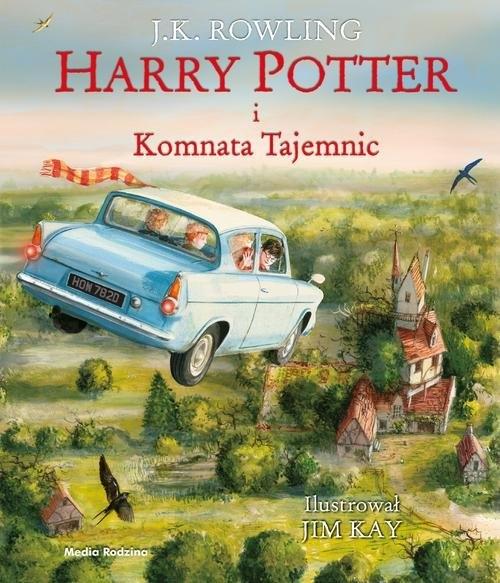Harry Potter i komnata tajemnic - wydanie ilustrowane Rowling Joanne K.