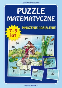 Puzzle matematyczne mnożenie Beata Guzowska