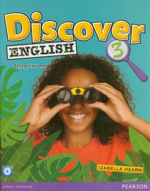 Discover English 3 Zeszyt ćwiczeń z płytą CD Hearn Izabella