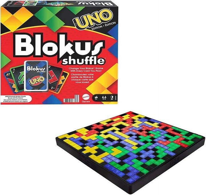 Blokus Shuffle: edycja Uno
