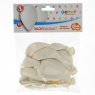 Balon gumowy Godan BALON PASTEL pastelowy biała 260 mm 10cal (G90/FI/08)
