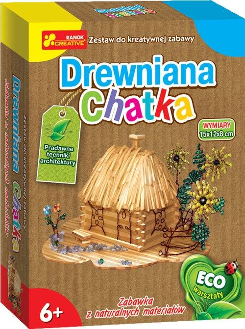 Drewniana chatka