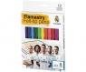 Flamastry 12 kolorów Real Madryt