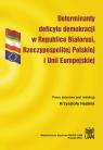 Determinanty deficytu demokracji w Republice Białorusi, Rzeczypospolitej