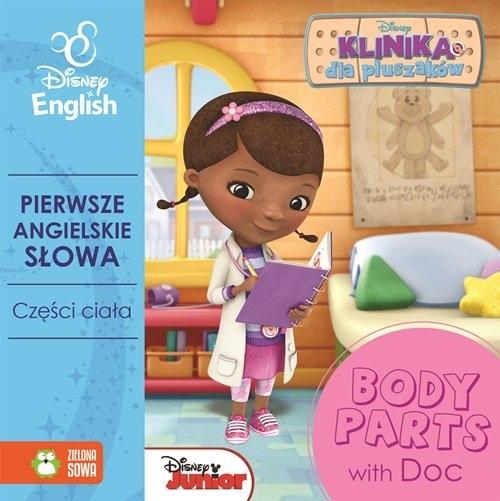 Pierwsze angielskie słowa z Dosią. Części ciała - Disney English Agnieszka Pycz