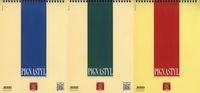 Kołonotatnik A4 Pigna Styl w kratkę 60 kartek mix kolorów