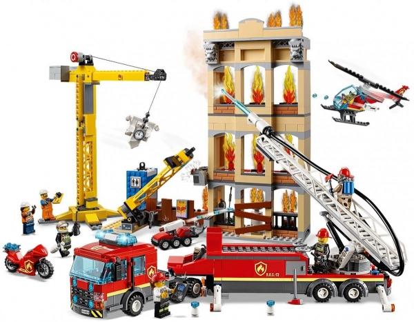 Lego City: Straż pożarna w śródmieściu (60216)